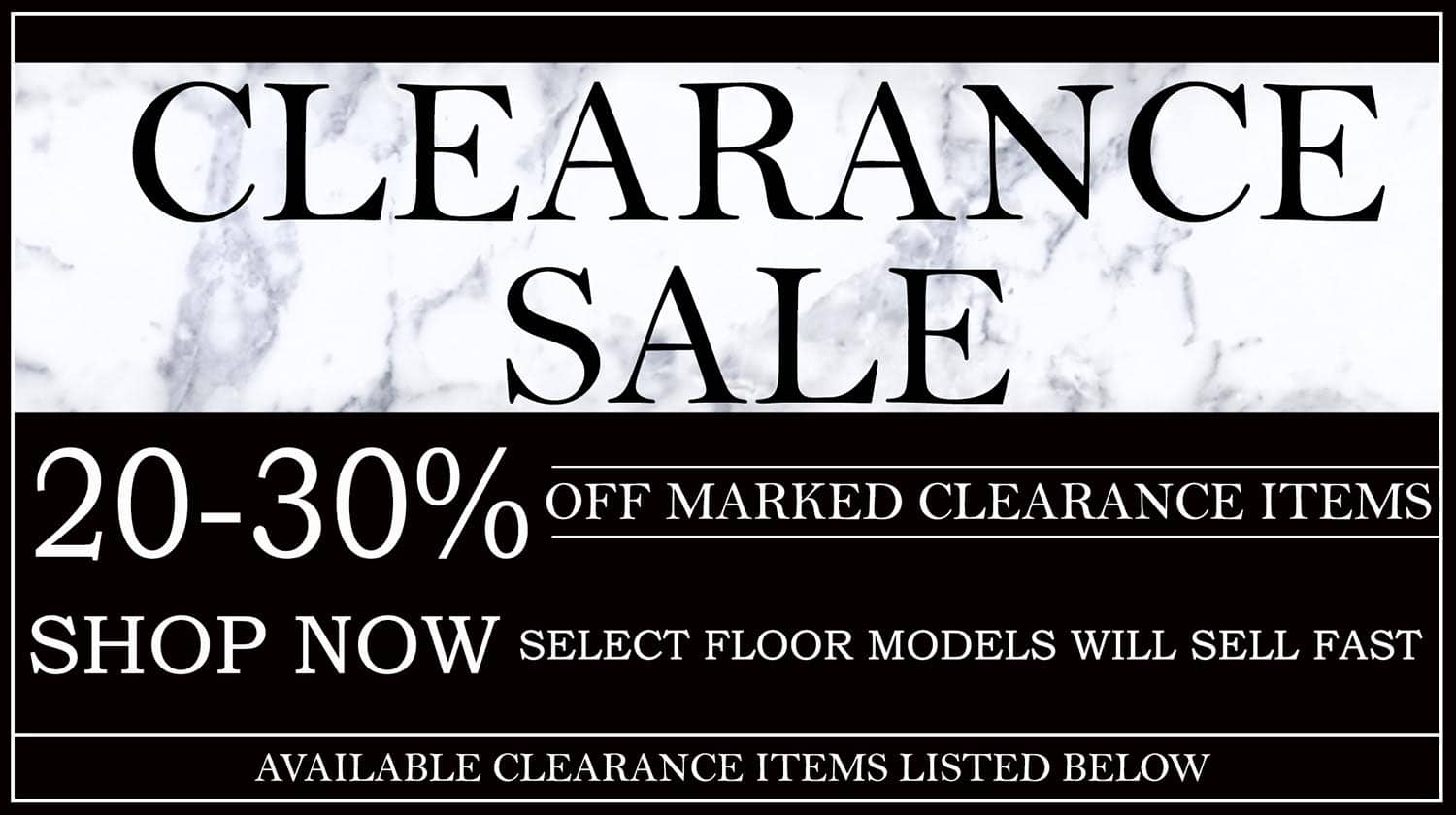 Clearance 2019 Clearance Landing Page Copy