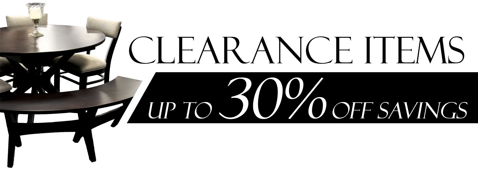 Clearance Web Banner Standard