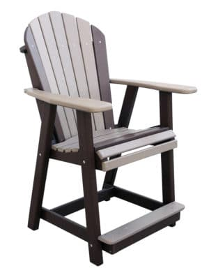 Adircdc Adirondack Dining Chair Counter Height
