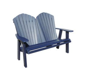 Ahbl4800 Four Foot Adirondack Love Seat