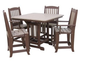 Cht4444 Fourty Four By Fourty Four Square Counter Height Table