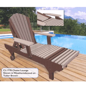 Cl1778 Chaise Lounge Reg $715 Sale $644