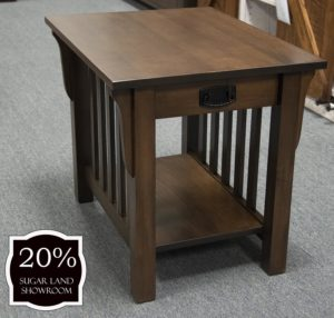 27 85d Mission End Table 20 Percent Off Sugar Land Location