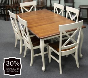 31 Queen Anne Leg Table And Chairs ( Set) 30 Percent Off Sugar Land Location
