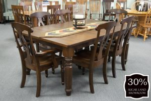 35 Berkshire Leg Table And Chairs (set) 30 Percent Off Sugar Land Location