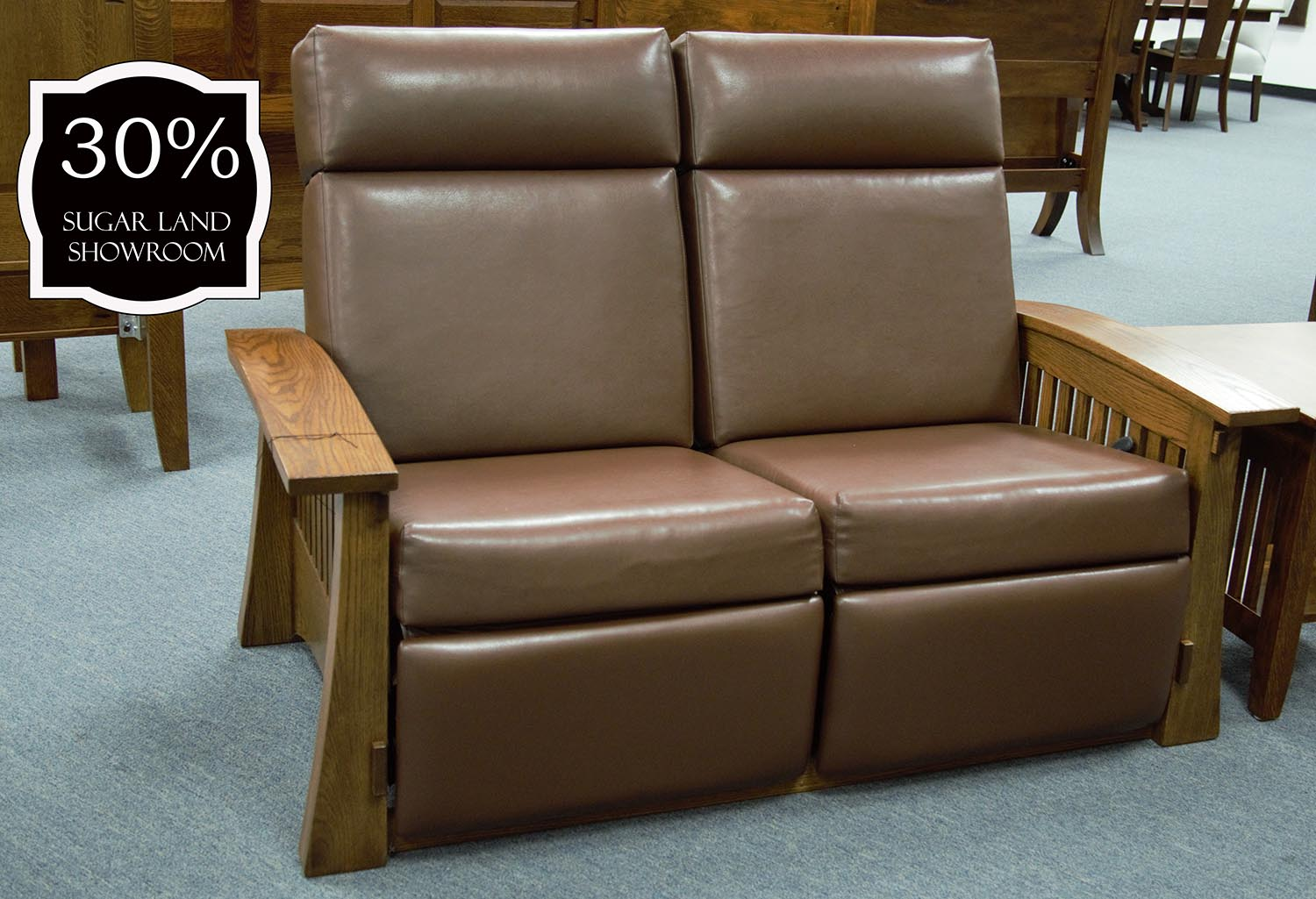 Excellent Craftsman Mission Reclining Loveseat Caraccident5 Cool Chair Designs And Ideas Caraccident5Info