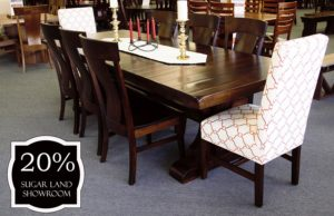 56 Barstrow Trestle Table And Chairs (set) 20 Percent Off Sugar Land Location