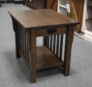 85d Mission End Table