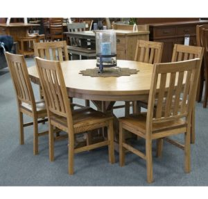 Alberta Pedestal Table And Chairs