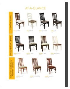 2019 Berlin Woodworking Chair Catalog P1