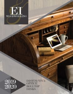 2019 E I Woodworking Rolltop Desks Catalog P1