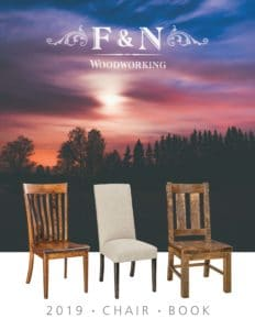 2019 F N Woodworking Chair Catalog P1