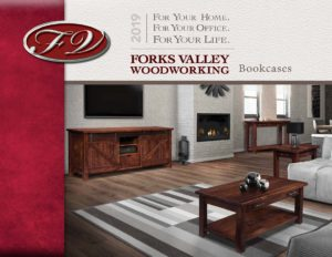 2019 Forks Valley Woodworking Bookcase Catalog P1