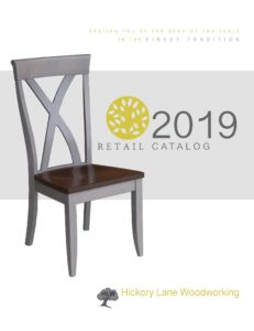 2019 Hickory Lane Woodworking Chair Catalog P1