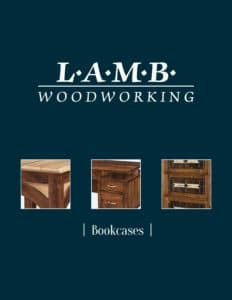 2019 Lamb Woodworking Bookcase Catalog P1