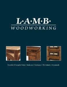 2019 Lamb Woodworking Office Furniture Catalog P1