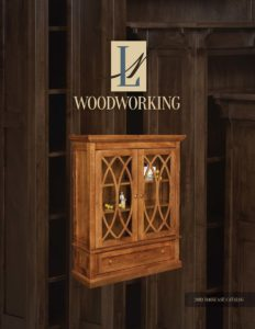 2019 L N Woodworking Bookcase Catalog P1