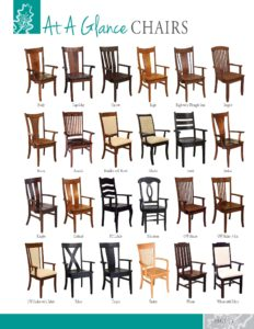 2019 Oakland Wood Chairs Catalog P1