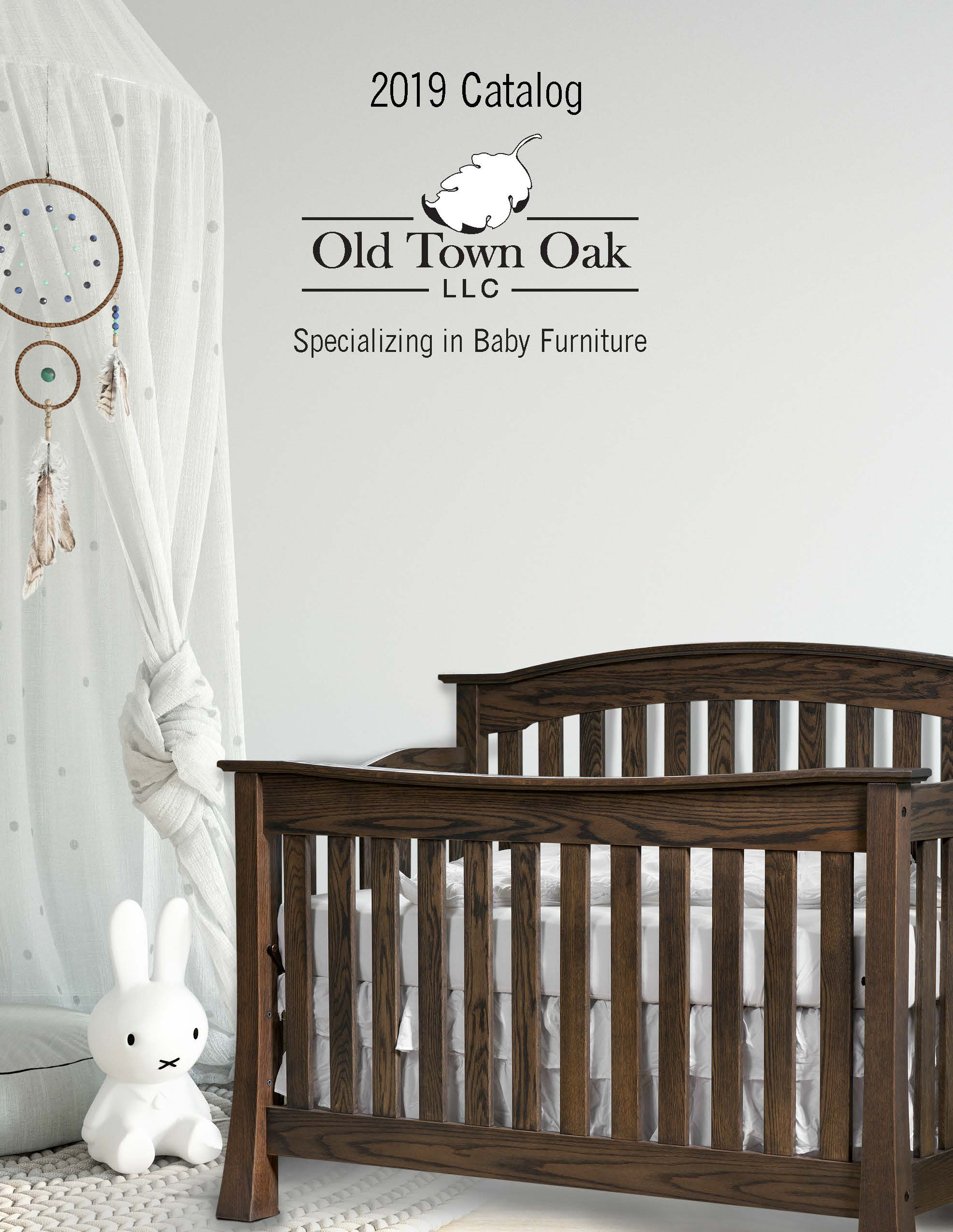 2019 Old Town Oak – Baby Furniture Catalog - E&G Amish Furniture