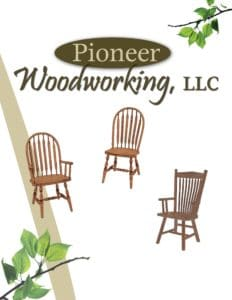 2019 Pioneer Woodworking Chair Catalog P1
