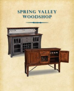 2019 Spring Valley Woodshop Hutch Catalog P1