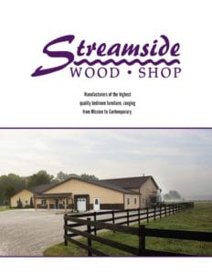 2019 Streamside Wood Shop Bedroom Catalog P1