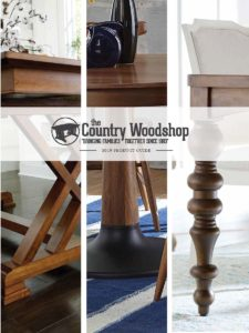 2019 The Country Woodshop Table Catalog P1