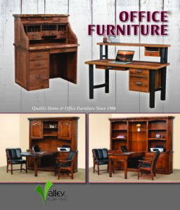 2019 Valley Furniture Rolltop Desks Catalog P1