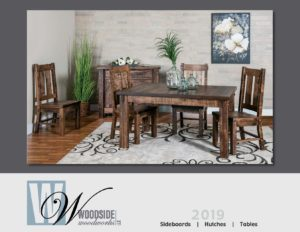 2019 Woodside Woodworks Table Catalog P1