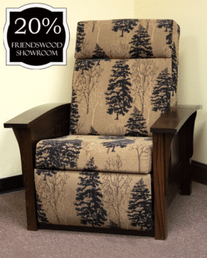 11 85 1 Recliner With Panel Sides 20 Percent Off Friendswood Location