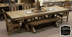 14 Cheasapeake Table With Chairs And Bench(set) 20 Percent Off Friendswood Location