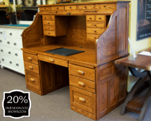 19 Deluxe Roll Top Desk 20 Percent Off Friendswood Location