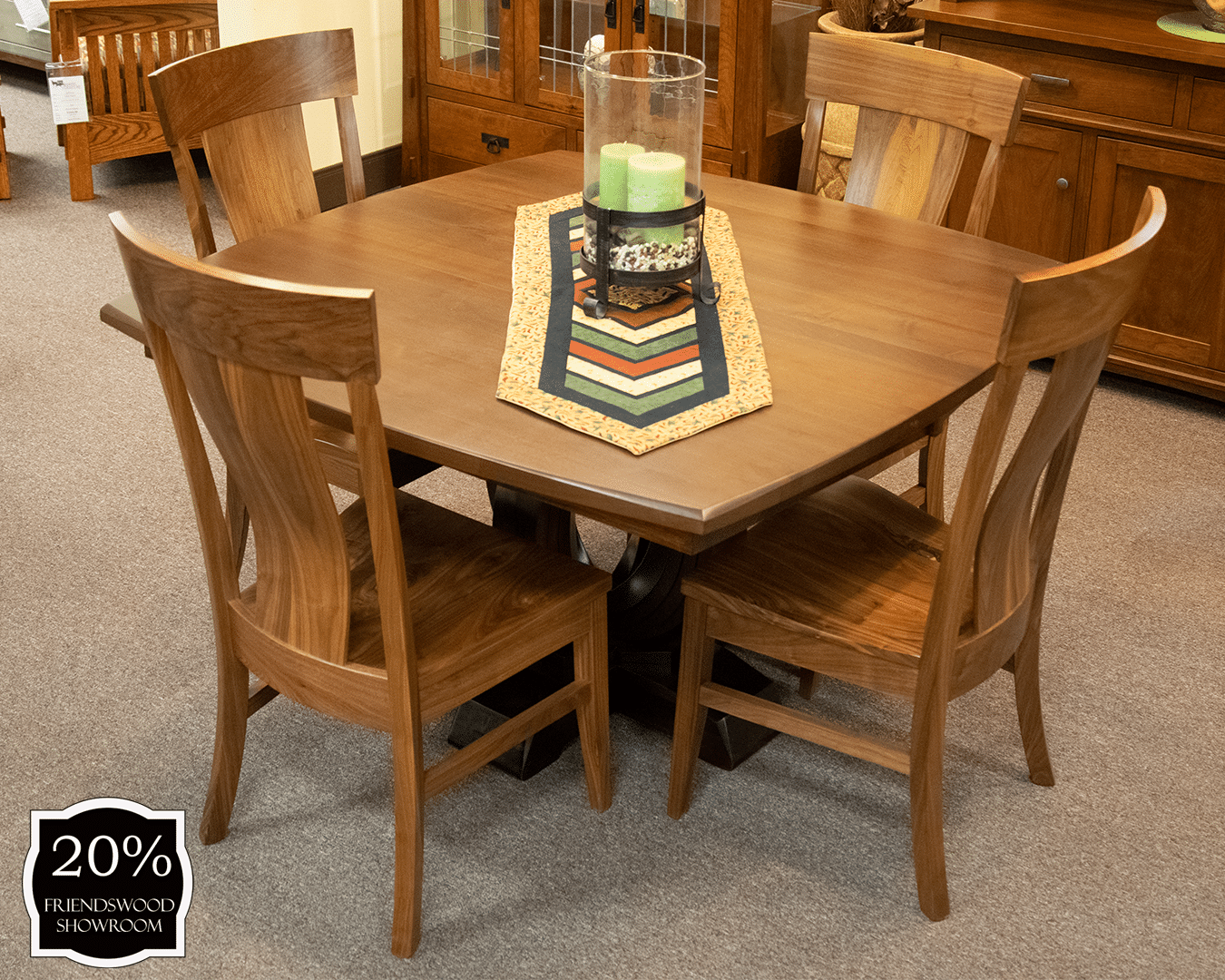 Outstanding Saratoga Single Pedestal Table And Chairs Set Cjindustries Chair Design For Home Cjindustriesco