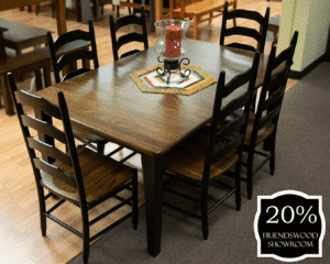 22 Shaker Leg Table And Chairs (set) 20 Percent Off Friendswood Location