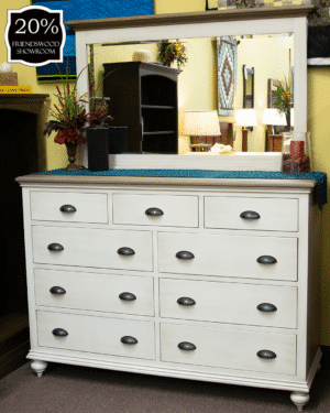25 Willowlane Bedroom Collection Dresser With Mirror 20 Percent Off Friendswood Location