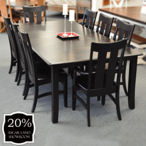 5 Ow Shaker Leg Table With Chairs ( Set ) 20 Percent Off Sugar Land Location