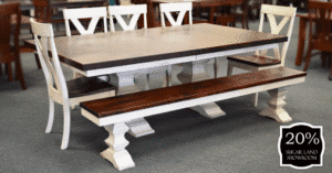 8 Silverton Trestle Table And Chairs (set) 20 Percent Off Sugar Land Location