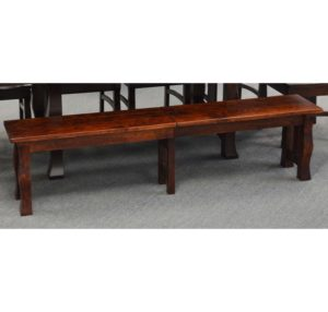 Reno Trestle Extendable Bench With 4 12in Leaves