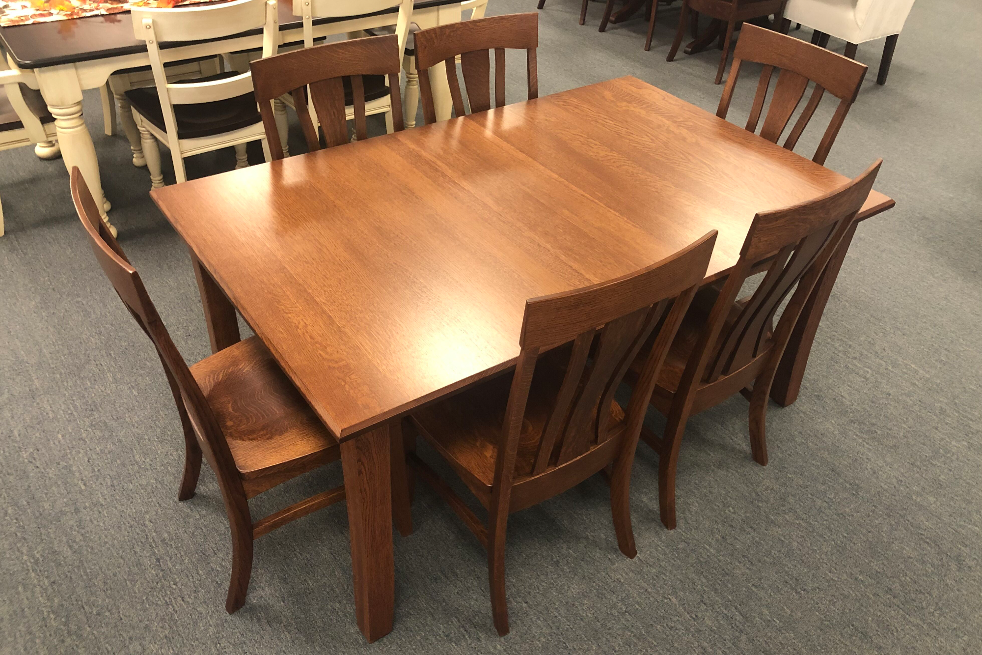 3in OW Shaker Leg Table - QSWO