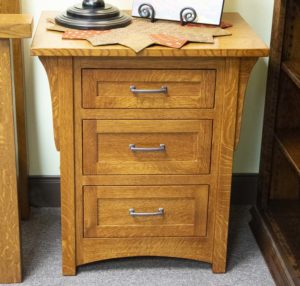 Burlington 3 Drawer Nightstand