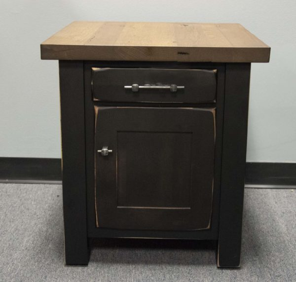 20 Off Reclaimed Barn Floor End Table With Door E Amp G