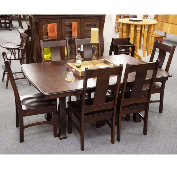 Reno Trestle Table And Reno Side Chairs