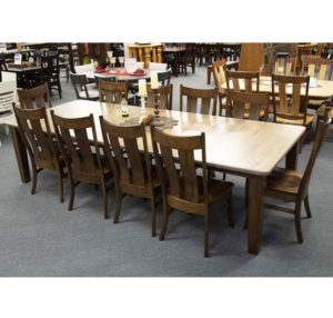 4in Shaer Leg Table And Kirtland Side Chairs