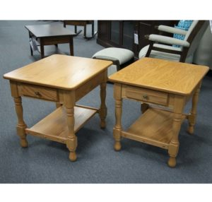 Country Style End Table Set