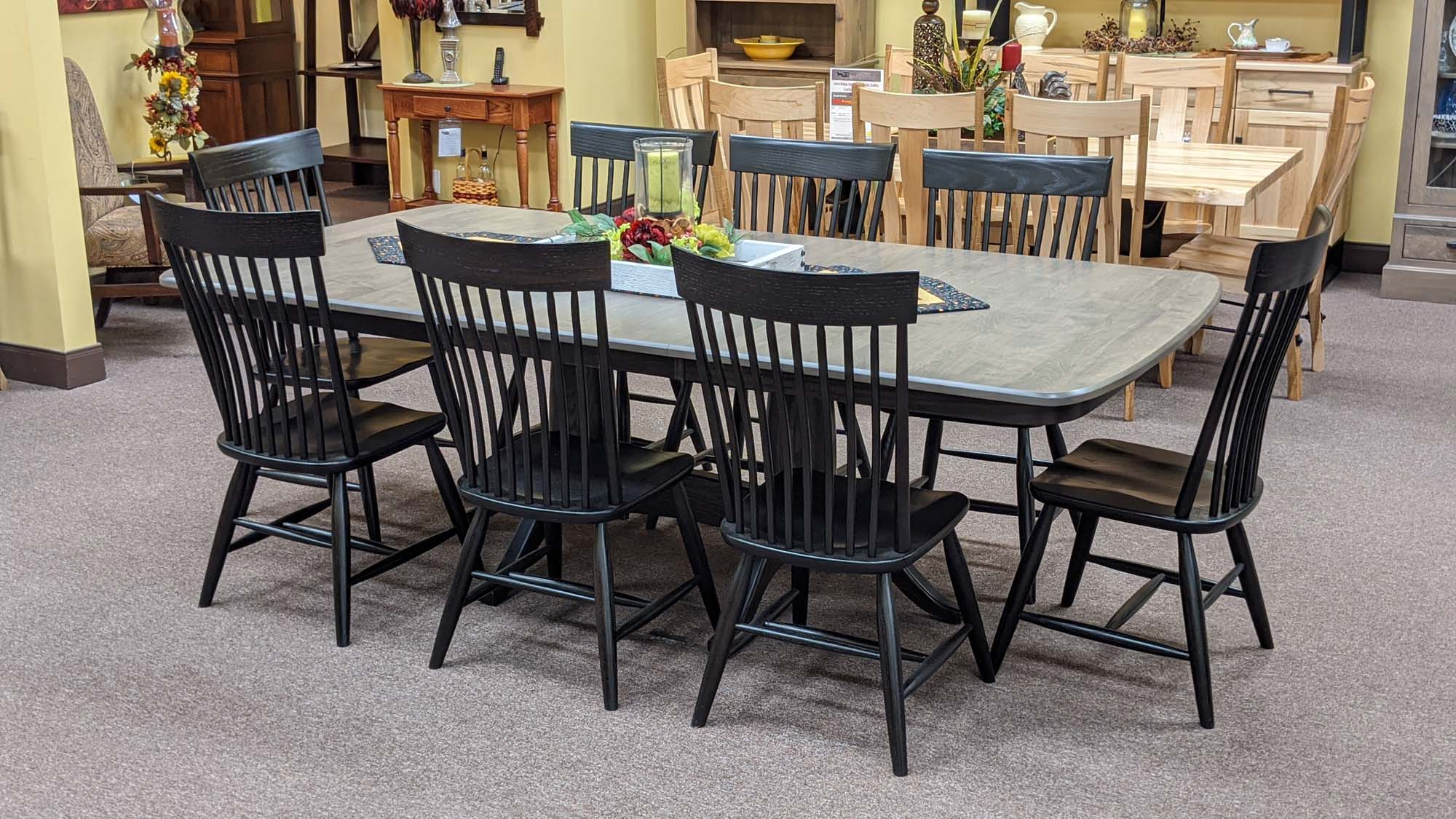 Chelesea Double Pedestal Table