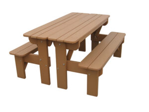 Tb6027 Five Foot Convertible Table Bench Set (2)