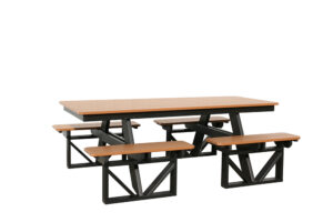 Wit3384 Seven Foot Walk In Picnic Table