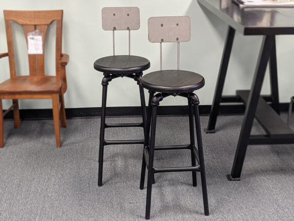 30inch Bar Stool Pipe Fiiting Set Of Two Original Set Price $750.00 15% Off Clearannce Price $637.50
