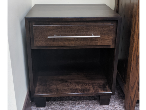 Berkshire Collection 1011 One Drawer Night Stand Origional Price $870.00 15% Off Clearance Price $739.00