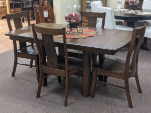 Sheridan Trestle Table Confirm Style Original Price $2,936.00 Clearance Price 15% Off $2,496.00
